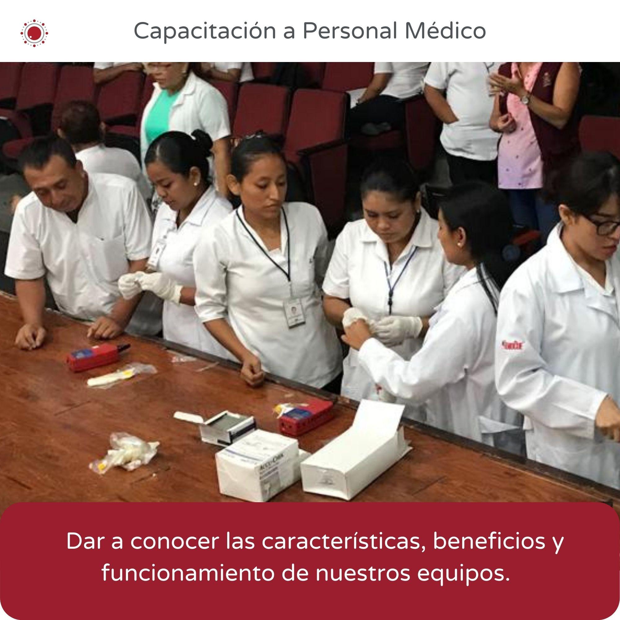 REBIO-Capacitación personal médico