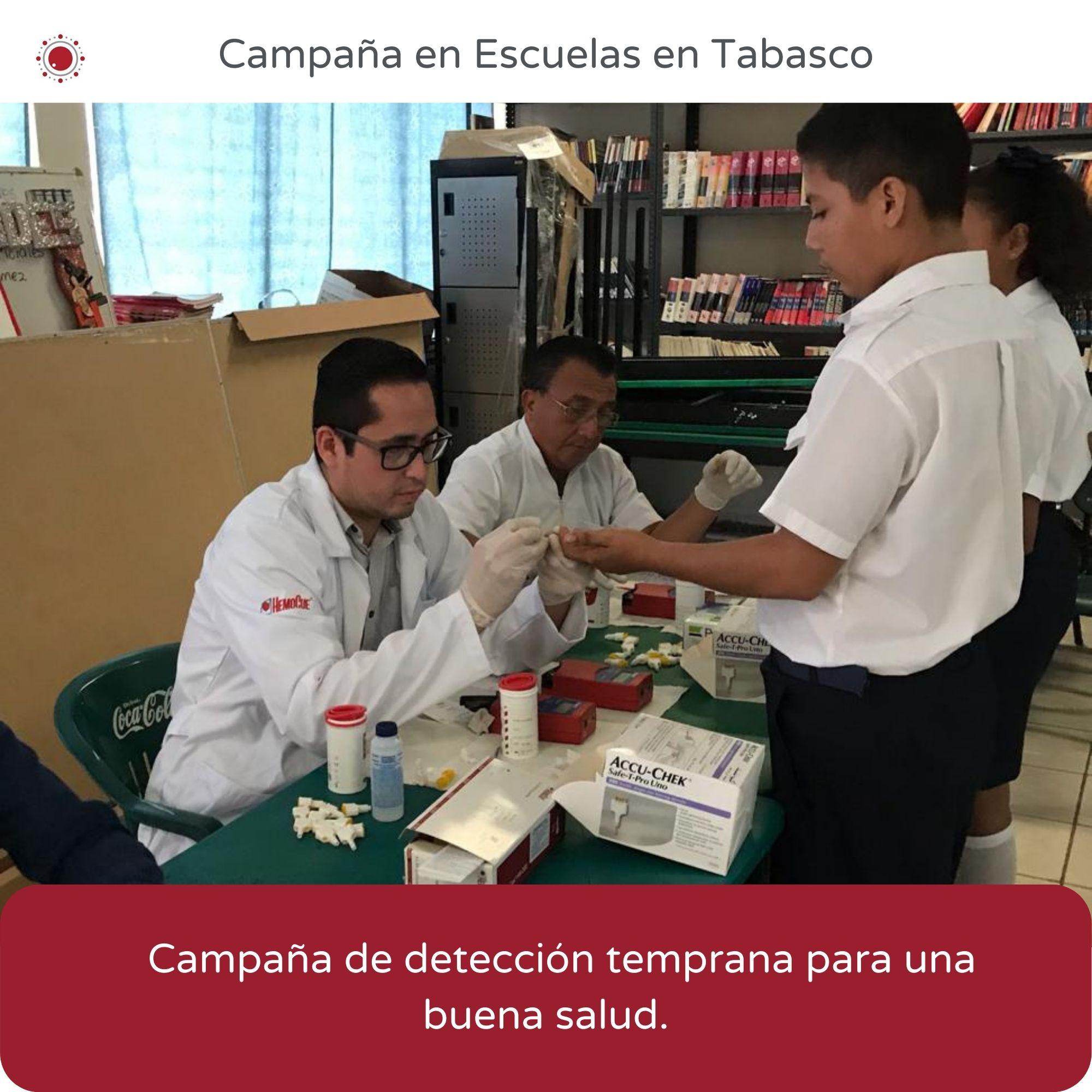 REBIO-Camapaña de escuelas en Tabasco
